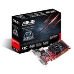SVGA ASUS R7240-OC-4GD3-L Amd R7 240 4G-DDR3 128bit PCIe3.0 D-SUB DVI-D HDMI HDCP attiva 90YV04T2-M0NA00