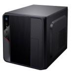 CABINET MicroATX CUBO iTEK Modello SPACEBOX - No ALIM - 1xUSB 3.0 1xUSB 2.0 Frontali - Formato CUBO - Nero (IT