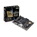 MB ASUS A68HM-PLUS AMD FM2+ A68H  2D3DC-2400o.c. VGA HD7/8000 DSUB/DVI/HDMI 1PCIe3.0-16X 4SATA3R 4USB3 GLAN mA