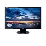 MONITOR ASUS LCD LED 23.6 Wide VE247H 2ms MM 0.271 FHD 1920x1080 1000:1 BLACK VGA DVI HDMI