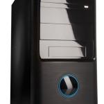 CABINET ATX MIDDLE TOWER iTEK Modello VIC - Alim 500W Fan 12Cm - 2xUSB2.0 Frontali - Colore Full Black (ITPB88