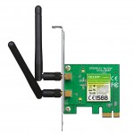 ADATTATORE PCI-E WIRELESS TP-LINK TL-WN881ND 2 antenne stacc. - Garanzia 3 anni