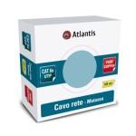 CAVO RETE in MATASSA 100Mt CAT.6 UTP Non schermato ATLANTIS P019-N155-100M - EAN 8026974014760