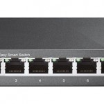SWITCH 8P LAN Gigabit TP-LINK TL-SG108E Easy Smart IGMP Snooping,MTU/port/Tag-based VLAN QoS -Garanzia a vita
