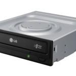 Mast.SATA x DVD±R/±RW LG  GH24NSD1.AUAA10B Black Oem 24x8x DVD+R 12x DL No Sw