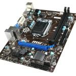 MB MSI H81M-P33 LGA1150 H81 2D3DC-1600 VGA+DVI+PCIEX16 3.0 1PCIEx1 2SATA3 2SATA2 2USB3 8USB2 GLAN mATX Fino:28
