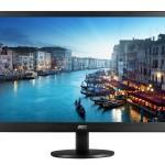 MONITOR AOC LCD LED 23.6 WIDE E2470SWHE 5ms 0.276 FHD 1920x1080 1000:1 BLACK VGA 2xHDMI Vesa Fino:06/06