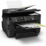 STAMPANTE EPSON MFC INK WORKFORCE WF-7620DTWF C11CC97302 A3+ 4in1 18PPM ISO LCD CARD READER USB WIFI LAN ADF F