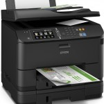 STAMPANTE EPSON  MFC INK Workforce Pro 4640DTWF C11CD11301 4in1 A4 34PPM 330FG F/R LCD 10,9cm TOUCH USB LAN WI