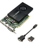 SVGA PNY VCQK2200-PB nVidia QUADRO K2200 KEPLER 4GBDDR5 PCIe16X 2.0 2560x1600 1dvi/vga+2dp1.2
