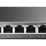 SWITCH 5P LAN Gigabit TP-LINK TL-SG105E Easy Smart IGMP Snooping,MTU/port/Tag-based VLAN QoS -Garanzia a vita
