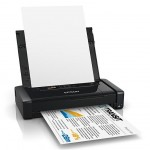 STAMPANTE EPSON INK WORKFORCE WF-100W C11CE05402 PORTATILE 14PPM 20FG LCD WIFI DIRECT, USB, BATTER, ALIMENT, C