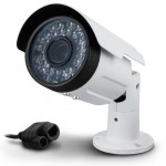 VIDEOCAMERA IP ATLANTIS A11-820A-BP Bianca-2Mpixel POE-IP-66 36Led Ottica fissa 8.0mm-Supp.ONVIS/RTSP