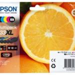 MULTIPACK EPSON 33XL Arancia C13T33574010 5 CARTUCCE X XP-530/XP-630/XP-635/XP-830