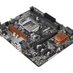 MB ASROCK H110M-HDV 6GEN LGA1151 H110 2D4DC2133 VGA+DVI+HDMI+1PCIE3.0x16 2PCIEx1 4SATA3 2USB3 4USB2 GLAN mATX