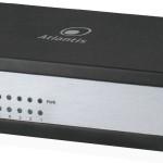 SWITCH 5P LAN 10/100M (4P POE fino 64W) ATLANTIS A02-F5PoE4-A Mode-A- Metallo-Alim.int.- include Kit Wall moun