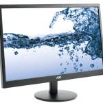 MONITOR AOC LCD LED 21.5 WIDE E2270SWHN 5ms 0.248 FHD 1920x1080 BLACK VGA HDMI Vesa Fino:06/06