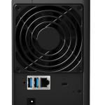 NAS SYNOLOGY DS216 X 2HD 3.5/2.5SATA2/3>NO HD<CPU DualCore-DDR3 512Mb-1P Giga-3P USB-1P eSATA-1 slot SD-Supp.1