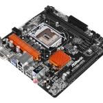 MB ASROCK H110M-HDS 6GEN LGA1151 H110 2D4DC2133 DVI+HDMI+1PCIE3.0x16 1PCIEx1 4SATA3 2USB3 4USB2 GLAN mATX