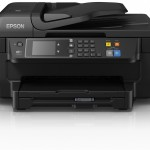 STAMPANTE EPSON INK MFC WORKFORCE WF-2760DWF C11CF77402 A4 4in1 13PPM ISO 150FG ADF F/R LCD NFC USB LAN WIFI D