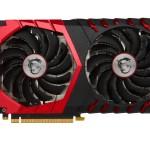 SVGA MSI GTX 1060 GAMING X 6G NVIDIA GTX 1060 Pci-ex16 3.0 6GBDDR5 3xDP + HDMI + DVI DX12 Fino:31/05