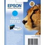 CARTUCCIA EPSON Ghepardo C13T07124011/12 CIANO x STYLUS D78 DX4000/4050/5000/6000/6050 BLISTER