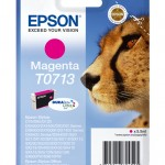 CARTUCCIA EPSON Ghepardo C13T07134011/12 MAGENTA x STYLUS D78 DX4000/4050/5000/6000/6050 BLISTER