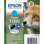 CARTUCCIA EPSON Volpe C13T12824011/12 CIANO STYLUS S22-SX125-SX420W-BX305F BLISTER TAGLIA M