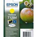 CARTUCCIA EPSON Mela C13T12944011/12 GIALLO x SX420W-BX305F-BX320FW TAGLIA L