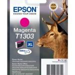 CARTUCCIA EPSON Cervo C13T13034010/12 MAGENTA x BX320FW-BX525WD-BX625FWD-SX525WD-SX620FW TAGLIA XL