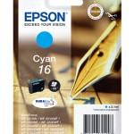 CARTUCCIA EPSON 16 Penna e Cruciverba C13T16224010/12 CIANO x WF-2510FW/WF-2520NF/WF-2530WF/WF-2540WF/WF-2010W