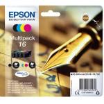MULTIPACK EPSON 16 Penna e Cruciverba C13T16264010/12 4ink x WF-2510FW/WF-2520NF/WF-2530WF/WF-2540WF/WF-2010W