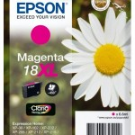 CARTUCCIA EPSON 18XL Margherita C13T18134010/12 MAGENTA CLARIA x EXPRESSION XP-30/XP-102/XP-202/XP-205/XP-302/
