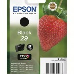 CARTUCCIA EPSON 29 Fragola C13T29814010/12 NERO X XP-235/XP-332/XP-335/XP-432