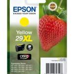 CARTUCCIA EPSON 29XL Fragola C13T29944010/12 GIALLO X XP-235/XP-332/XP-335/XP-432