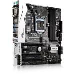 MB ASROCK B250M-PRO4 7GEN LGA1151 B250 4D4DC2400 VGA+DVI+HDMI+2PCIE3.0X16 1PCIEx1 1xPCI 6SATA3+2M.2 3+1USB3 2U