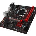 MB MSI B250M GAMING PRO LGA1151 B250 2D4DC-2400 VGA+DVI+HDMI+1PCIEX16 3.0 2PCIEx1  6SATA3+1xM.2 6USB3.1 6USB2