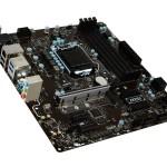 MB MSI B250M PRO-VDH LGA1151 B250 4D4DC-2133 VGA+DVI+HDMI+1PCIEX16 3.0 2PCIEx1  6SATA3+1xM.2 6USB3.1 6USB2 GLA