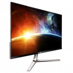 MONITOR YASHI PioneerS YZ2407 LED 24FHD IPS 16:9 2ms MM 1920x1080 Black/Silver VGA/HDMI 350cd/m2 50.000K:1 Fra