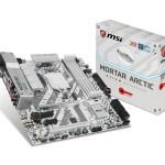 MB MSI H270M MORTAR ARCTIC LGA1151 H270 4D4DC-2133 DVI+HDMI+DP+2PCIEX16 3.0 2PCIEx1 6SATA3-R+1xM.2 8USB3.1 6US
