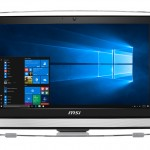 LCDPC M-Touch MSI PRO 22ET 7M-086EU 21.5'BW FHD White G4560 4GBDDR4 1TB W10 ODD WIFI 6USB RS232 CAM HDMI T+M 3