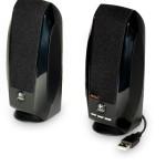 CASSE LOGITECH OEM S150 1,2W RMS black USB P/N 980-000029/E