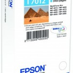 CARTUCCIA EPSON Piramidi C13T70124010 INCH. PIGMENTI CIANO EXTRA CAPACITA  Durabrite Ultra  TAGLIA XXL   PER W