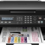 STAMPANTE EPSON INK MFC WORKFORCE WF-2510WF C11CC58302 A4 4in1 9PPM ISO USB WIFI