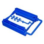 STAFFA/BRACKET per 2 SSD/HD da 2.5 a 3.5 plastica ATLANTIS A06-BRA252A - Garanzia 2 Anni Fino:31/12
