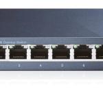 SWITCH 8P LAN Gigabit TP-LINK TL-SG108 Metal Supports GMP Snooping,IEEE802.1p QoS, Plug&Play -Garanzia 3 anni