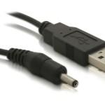 CAVO ALIMENTAZIONE USB CONNETTORE DC 3.5 x 1.5 M/M 1,5Mt R10023 - EAN: 4043619823772