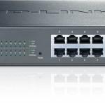 SWITCH 16P LAN Gigbit TP-LINK TL-SG1016DE Easy Smart-MTU/Port/Tag-based VLAN QoS IGMP Snooping-Garanzia a vita