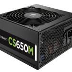 ALIMENTATORE ATX 650 WATT CORSAIR CP-9020077-EU Builder CS650M 80+Gold -Modulare - 3 anni garanzia