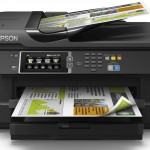 STAMPANTE EPSON MFC INK WORKFORCE WF-7610DWF C11CC98302 A3+ 4in1 18PPM ISO, USB WIFI LAN ADF F/R WIFI DIRECT C